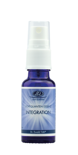"""Licht Quanten Aqua """"Integration"""" (blau)"""